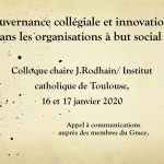 Gouvernance collégiale et innovation dans les organisations à but social